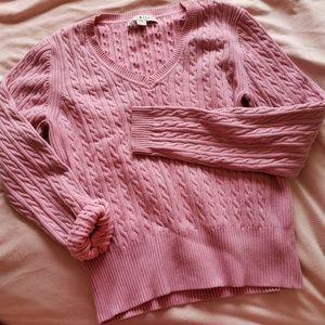 Pink Tommy Hilfiger Sweater